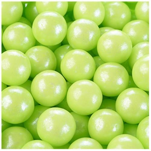 Modecor cukrové perličky 9mm - zelené - 50g