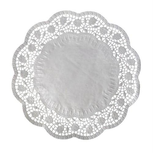 Papírové krajky pod dort 36cm - 6ks