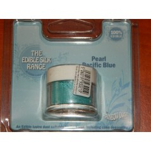 RD Prachová perleťová oceánová modrá Rainbow dust - Pearl Pacific Blue 2g