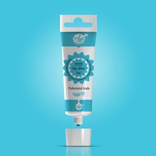RD ProGel® - gelová barva - nebeská modrá - Sky Blue