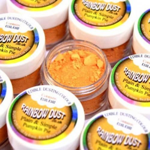Prachová barva oranžová Rainbow - Pumpking Pie
