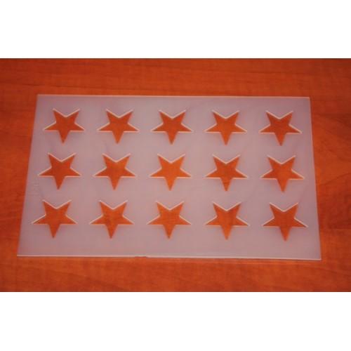 Šablona hvězdy