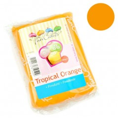 FunCakes potahový fondán Tropical Orange - oranžový - 250g