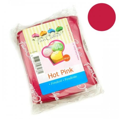 FunCakes potahový fondán - Hot Pink - tmavá růžová 250g