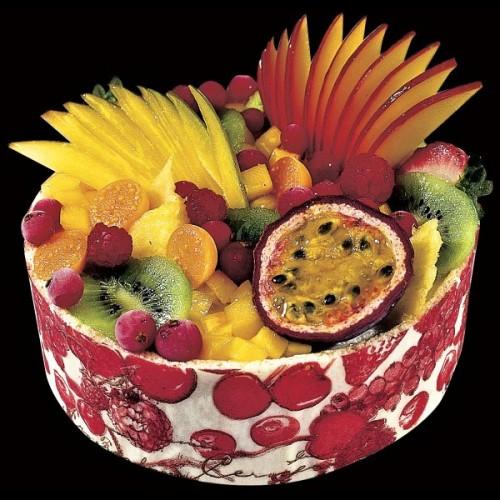 """Pečící papír s transferem """"Fruits Rouges"""" - červené ovoce 40 x 60cm"""
