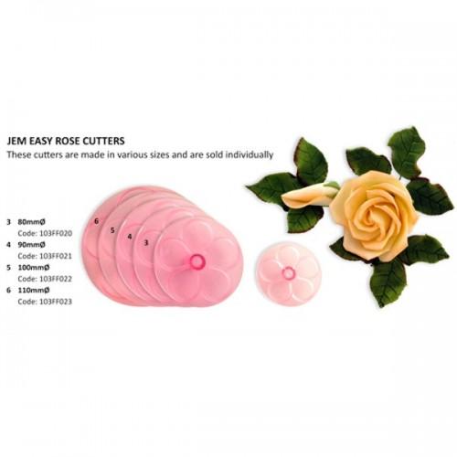 JEM vypichovač - snadná růže - 11cm
