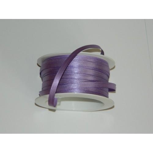 Atlasová stuha - fialová světlá 20m/ 5mm