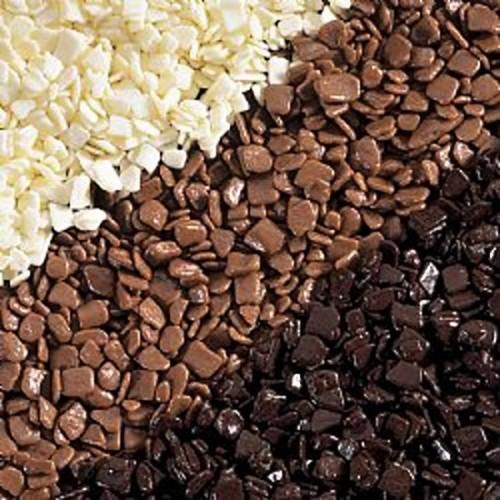 Scaglietta white - čokoládové sypání - 250g