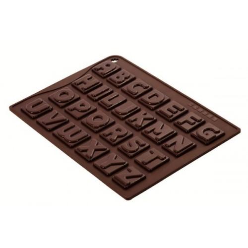 Pavoni - silikonová forma -  Choco-ice ABC