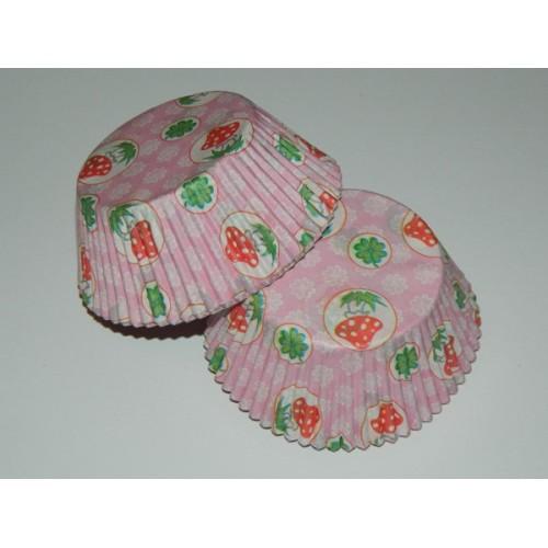 Cukrářské košíčky - čtyřlístek a muchomůrka - 40ks
