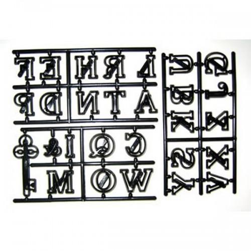 Patchwork Cutters - Velká písmena a klíč