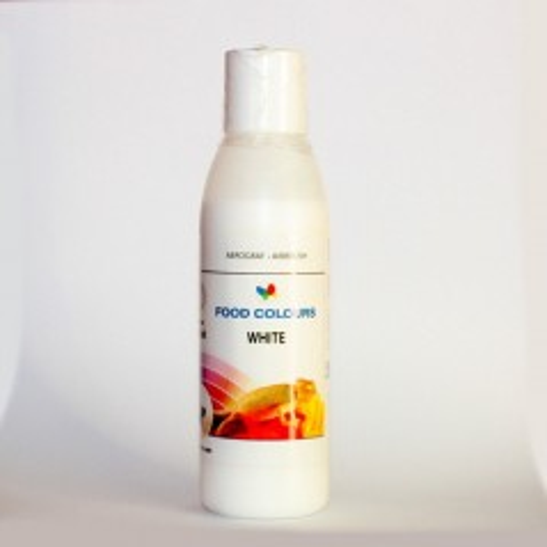 Airbrush barva tekutá Food Colours White (135 g/110 ml) Bílá