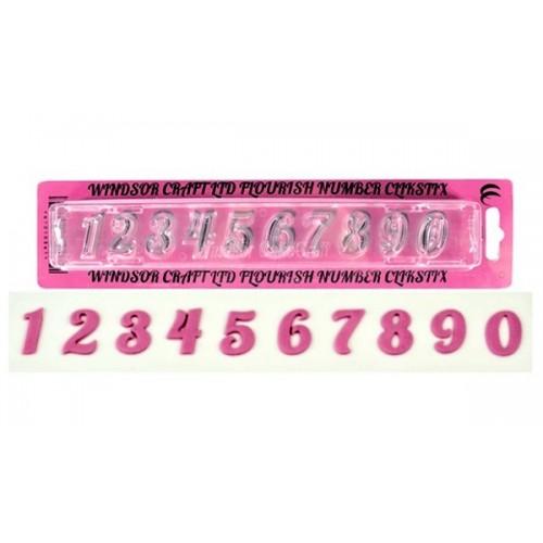 Windsor Clikstix čísla Flourish