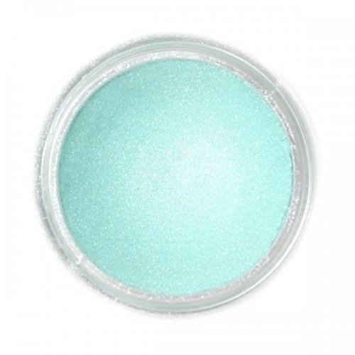 Jedlá prachová perleťová barva Fractal - Frozen Green, Harmatzöld (2,5 g)