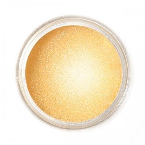 Jedlá prachová perleťová barva Fractal - Golden Shine, Arany homok (3,5 g)