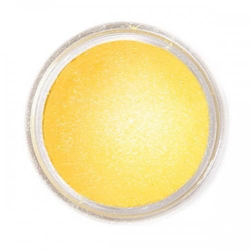 Jedlá prachová perleťová barva Fractal - Sunflower Yellow, Napsárga (1,5 g)