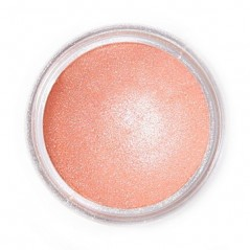 Jedlá prachová perleťová barva Fractal - Monticello Peach, Csillagköd rózsaszín (2,5 g)