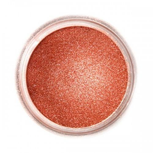 Jedlá prachová perleťová barva Fractal - Glowing Bronze, Izzó bronz (3 g),5 g)