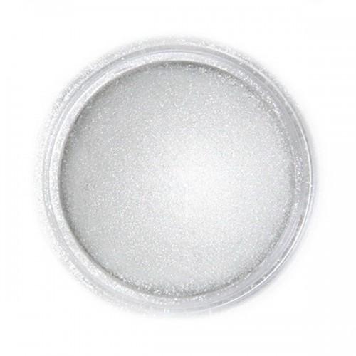 Jedlá prachová perleťová barva Fractal - Light Silver, Világos metál ezüst (3 g)