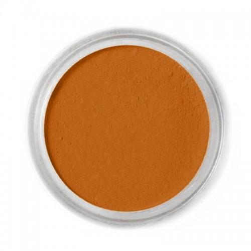 Jedlá prachová barva Fractal - hnědá - Squirrel Brown, Mókusbarna (1,7 g)