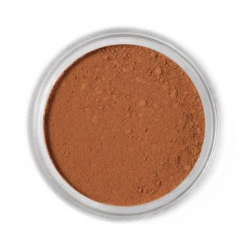 Jedlá prachová barva Fractal - hnědá - Milk Chocolate, Tejcsokoládé (1,5 g)