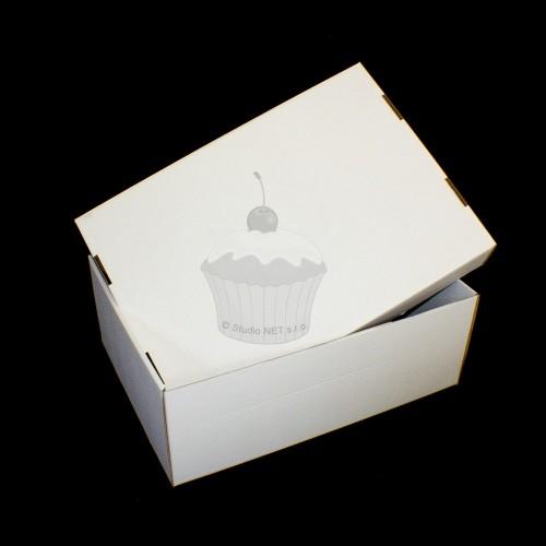 Krabice na patrový dort - extra pevná - Kniha - 59 x 42 x 21cm