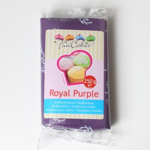 FunCakes potahový fondán Royal Purple - královská fialová 250g