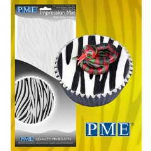 PME Otiskovací podložka Bold Zebra - Zebra
