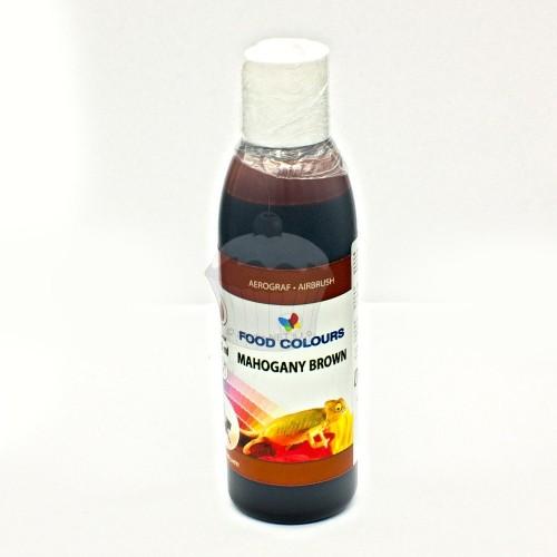 Airbrush barva tekutá Food Colours Mahogany Brown (135 ml)  Mahagonová hnědá