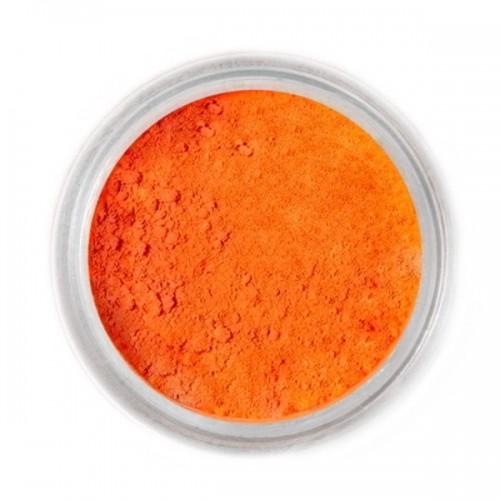 Jedlá prachová barva Fractal - Orange, Narancssárga (2,5 g)
