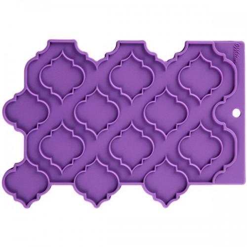 Wilton silikonová podložka - Přesné vzory - Trellis