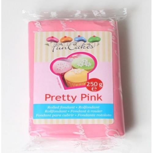 FunCakes potahový fondán - Pretty Pink - růžová - 250g