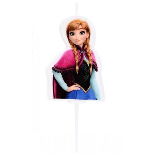 Disney malá dortová svíčka Frozen - ANNA