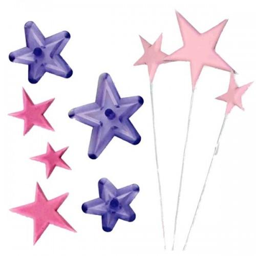 JEM - patchwork hvězdy - 3ks