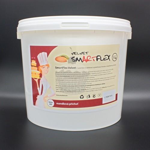 Smartflex velvet vanilka 7kg - potahovací hmota + podložka