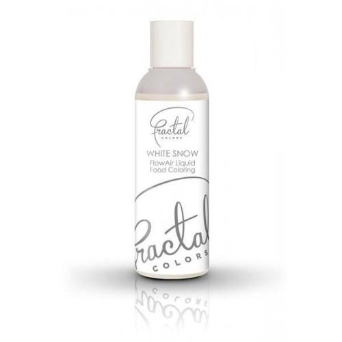 Airbrush barva tekutá Fractal - White Snow (100 ml)