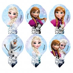 Disney jedlý papír MIX Frozen mini - 10ks
