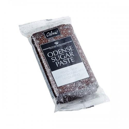 Odense potahovací hmota - hnědá s čokoládovou příchutí - 250g