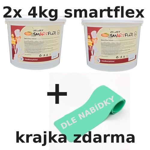 2x Smartflex velvet mandle 4kg + krajka zdarma