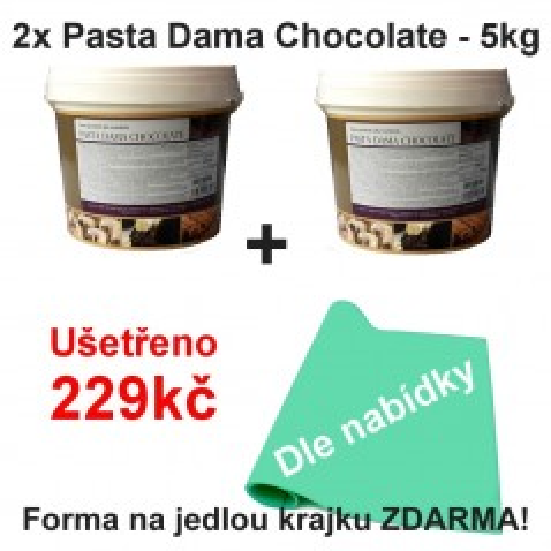 2x Pasta Dama Chocolate - 5kg + krajka zdarma