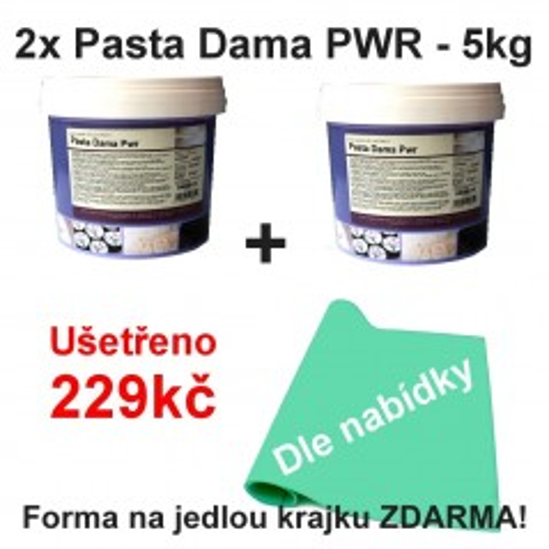 2x Pasta Dama Pwr - 5kg + krajka zdarma