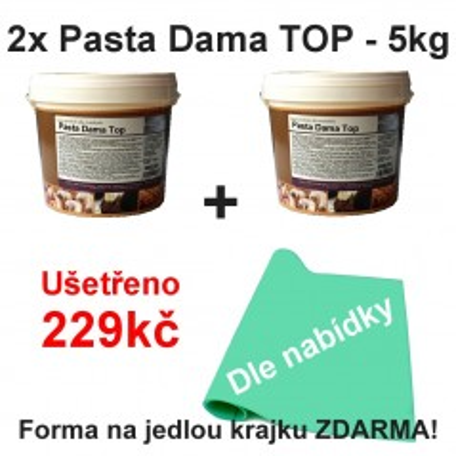 2x Pasta Dama TOP - 5kg + krajka zdarma