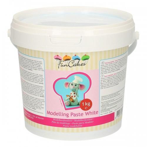 FunCakes Modelling Paste White - modelovací hmota Bílá - 1kg