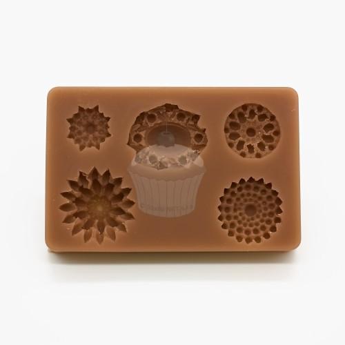 Silikonová forma - brože a šperky