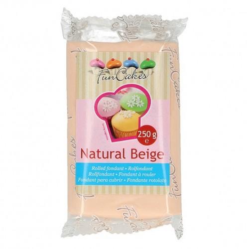 FunCakes potahový fondán Natural Beige - tělová -250g