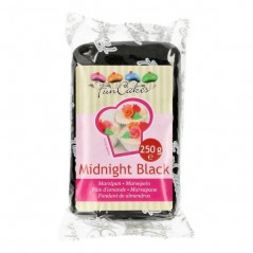 FunCakes Marcipán Midnight Black - černý - 250g