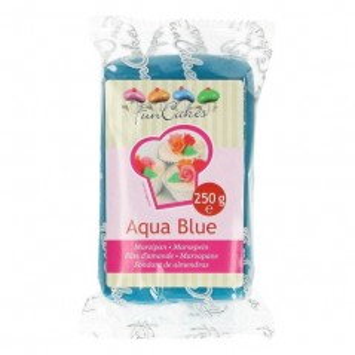 FunCakes Marcipán Aqua Blue - modrý - 250g
