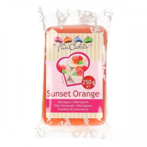 FunCakes Marcipán Sunset Orange - oranžový   - 250g