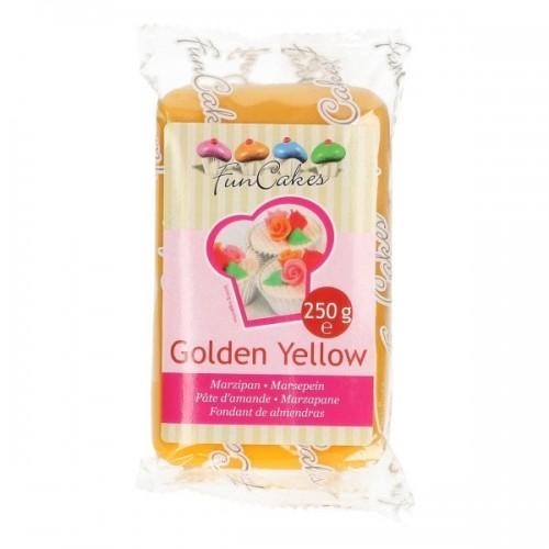 FunCakes Marcipán Golden Yellow - žlutý   - 250g