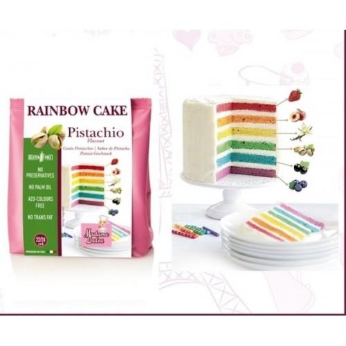 Madame Loulou - Rainbow Cake - Pistácie - 100g
